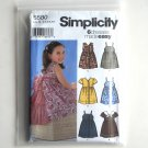 Girls Dress Simplicity Sewing Pattern 5580
