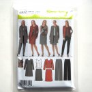 Misses Pants Skirt Top Coat Jacket 8 10 12 14 Simplicity Sewing Pattern 4950