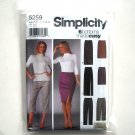 Misses Slim Pants Skirt 8 10 12 14 Simplicity Sewing Pattern 5259