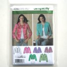 Misses Lined Unlined Jacket 8 10 12 14 16 Simplicity Sewing Pattern 4280