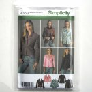 Misses Lined Jacket 8 10 12 14 16 Simplicity Sewing Pattern 4363