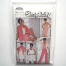 Tank Top Jacket Pants Shorts Skirt 10 12 14 Vintage Simplicity Sewing Pattern 6886