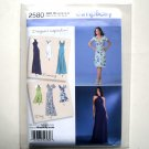 Misses Day Evening Special Occasion Dress 6 8 10 12 14 Simplicity Sewing Pattern 2580