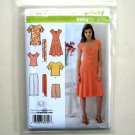 Misses Pants Shorts Dress Top Simplicity Sewing Pattern 3759
