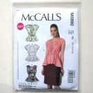 Misses Easy Fitted Tops Out Of Print McCalls Sewing Pattern M6990