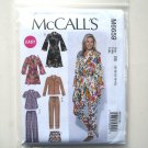 Misses Easy Tops Robe Shorts Pants 8 10 12 14 16 McCalls Sewing Pattern M6659