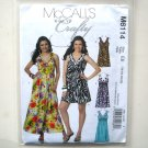 Misses Dresses 14 16 18 20 Out Of Print McCalls Sewing Pattern M6114