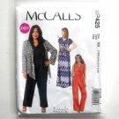 Womens Shrug Dress Jumpsuit 18W 20W 22W 24W McCalls Sewing Pattern MP425