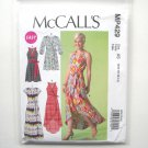 Misses Wrap Dresses 6 8 10 12 14 McCalls Sewing Pattern MP429
