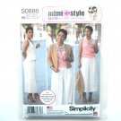 Misses Sportswear Mimi G Style 6 8 10 12 14 Simplicity Sewing Pattern S0886