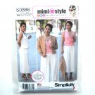 Misses Sportswear Mimi G Style 16 18 20 22 24 Simplicity Sewing Pattern S0886