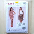 Misses Vacation Dress Skirt 6  8 10 12 14 16 18 Burda Style Sewing Pattern 6973