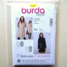 Misses Coat 10 12 14 16 18 20 22 24 Burda Style Sewing Pattern 6987