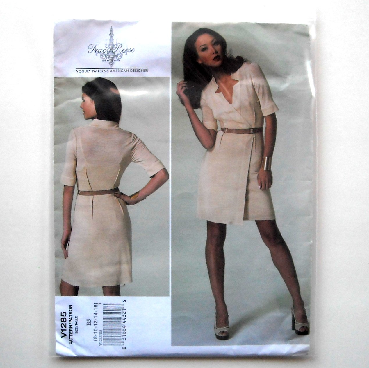 Misses Dress Out Of Print Tracy Reese Vogue Designer Pattern V1285