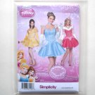 Misses Disney Princess Costumes 14 16 18 20 22 Simplicity Sewing Pattern 1553