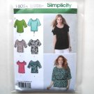 Misses Knit Tops XXS XS S M L XL XXL Simplicity Sewing Pattern 1805