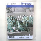 Misses Bag Backpack Hipster Accessories Simplicity Sewing Pattern 2911