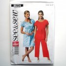Misses Easy Top Gown Pants All Sizes See & Sew Butterick Pattern B5774