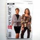 Misses Very Easy Jacket All Sizes See & Sew Butterick Pattern B5805