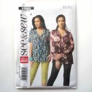 Misses Top Size 8 10 12 14 16 Easy See & Sew Butterick Pattern B5905