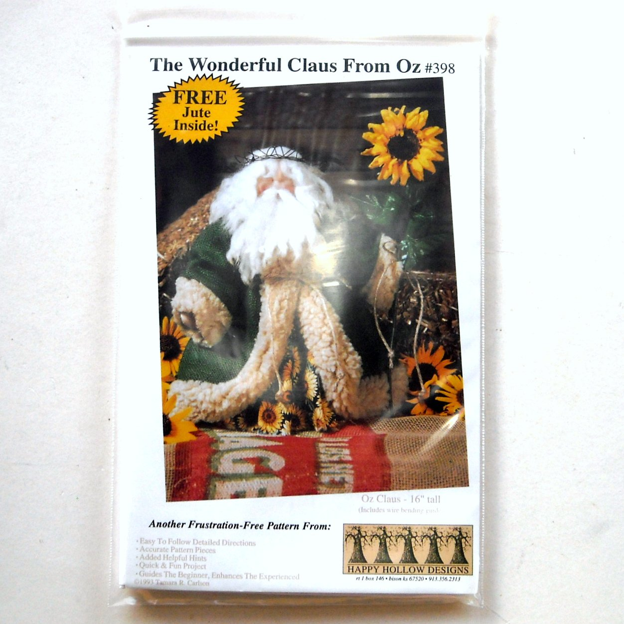 Wonderful Claus From Oz Happy Hollow Designs # 398