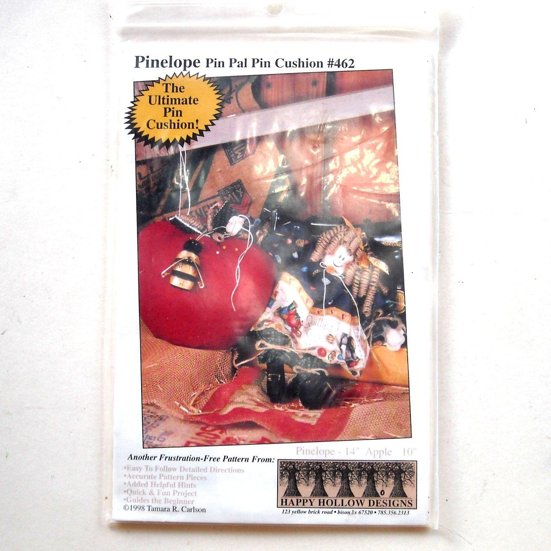 Pinelope Pin Pal Pin Cushion Happy Hollow Designs # 462