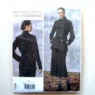 Jacket Skirt 6 - 14 Donna Karan Vogue Designer Sewing Pattern V1466