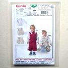 Shirt Vest Pants Burda Kids Sewing Pattern 9732