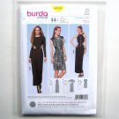 Misses Form Fitting Dresses 6 - 16 Burda Style Young Sewing Pattern 6858