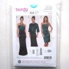 Misses Ladies Evening Dress Jacket 8 - 18 Burda Style Sewing Pattern 6865