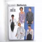 Misses Evening Jackets Cape Butterick Sewing Pattern 3345