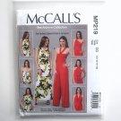 Misses Dress Jumpsuit 12 14 16 18 McCalls Sewing Pattern MP219
