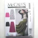 Misses Mini Maxi Skirts 12 14 16 18 20 McCalls Sewing Pattern M6608