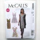 Misses Princess Seam Dresses 14 16 18 20 22 McCalls Sewing Pattern M6887