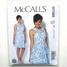 Misses Sleeveless Dress 6 8 10 12 14 McCalls Sewing Pattern M7088
