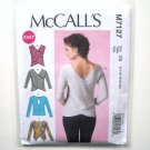 Womens Pullover Tops McCalls Sewing Pattern M7127