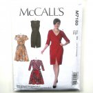 Womens Misses Wrap Dresses 14 - 22 McCalls Sewing Pattern M7185
