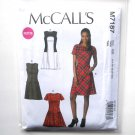 Womens Misses Dresses 14 - 22 McCalls Sewing Pattern M7187