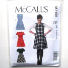 Misses Flared Dresses 6 - 14 McCalls Sewing Pattern M7188