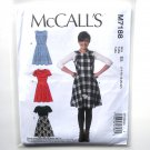 Womens Misses Flared Dresses 14 - 22 McCalls Sewing Pattern M7188