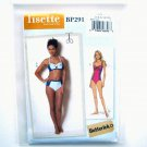 Bikini One Piece Swimsuit 4 - 12 Lisette Butterick Sewing Pattern BP291