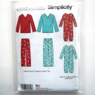 Pants Top Jumpsuit PJs XS S M L XL Simplicity Sewing Pattern D0552