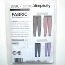Slim Fit Knit Jogger Unisex Easy In K Design Simplicity Sewing Pattern D0583