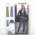 Jumpsuit Dress Jacket In K Designs 6 - 14 Simplicity Sewing Pattern S0990