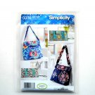 Tote Bags and Clutch Sweet Pea Simplicity Sewing Pattern 0386