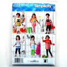 Girls Costume Aprons Simplicity Sewing Pattern 0385