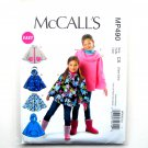 Girls Ponchos McCalls Easy Sewing Pattern MP490