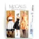 Misses Evening Elegance Dresses McCalls Sewing Pattern M5382