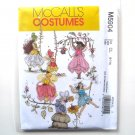 Girls Fairy Costumes McCalls Sewing Pattern M5904