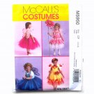 Little Girls Fairy Costumes McCalls Sewing Pattern M5950